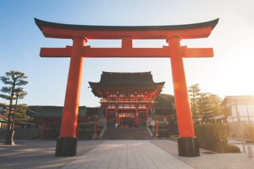 神社と鳥居