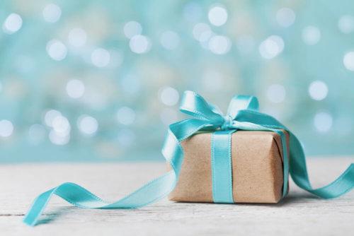 リボン付きのプレゼント