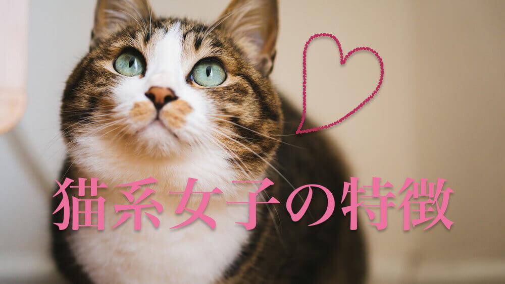 猫系女子の特徴